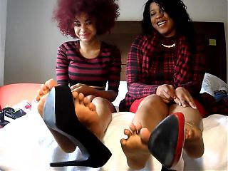 Two Ebony oiled soles