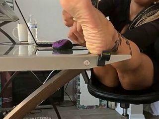 Mature Nichole Sole Feet