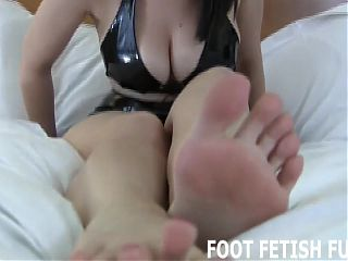 I have decided to let you play with my perfect feet