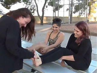 Jacqueline Hyde – lesbian amateur real foot fetish