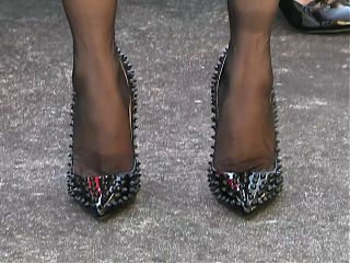 Black FF Stockings