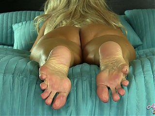 Angel Kissed Feet